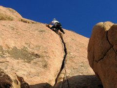 Rock Climbing Photo: Nearing the top of Route 66
