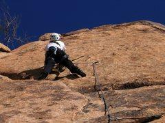 Rock Climbing Photo: Gettin' ready for the face climbing...  Patty Blac...
