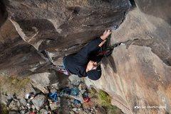 Rock Climbing Photo: me on prometheus