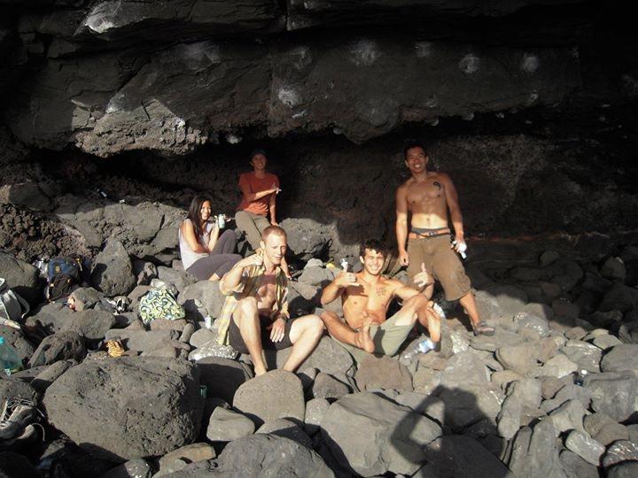 Hawaii climbers