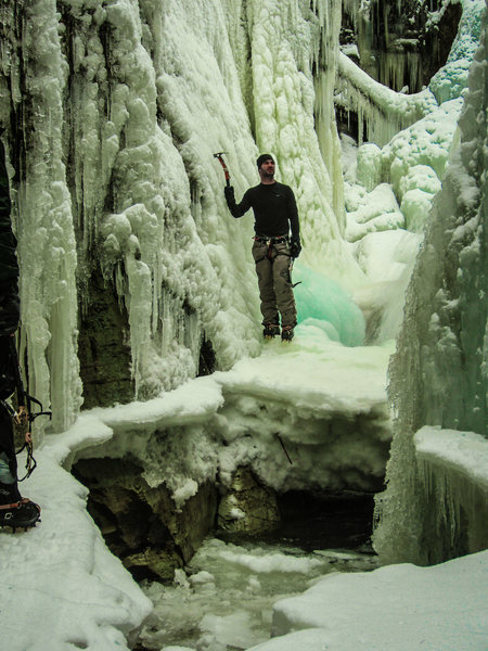 Rock Climbing Photo: Pinkum Falls Eureka, MT