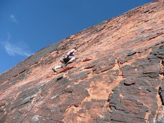 Rock Climbing Photo: Leading at Panty Wall