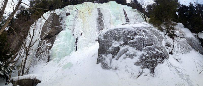 Rock Climbing Photo: Noire Inconnue area