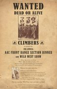 American Alpine Club Front Range Section Dinner and Wild West Show.