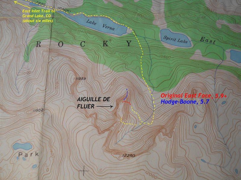Lake Verna area of RMNP.