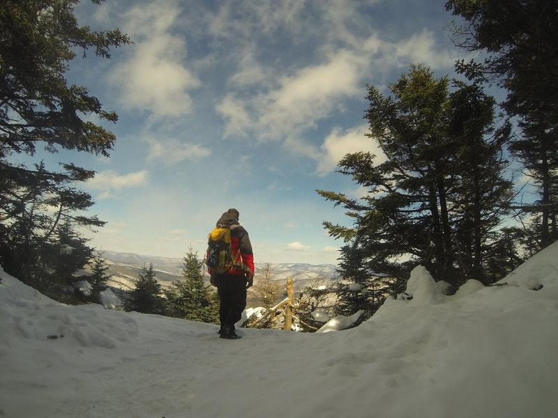 Rock Climbing Photo: slide mtn, 4180 catskills