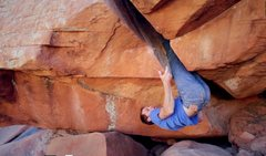 Rock Climbing Photo: The inverted shuffle.