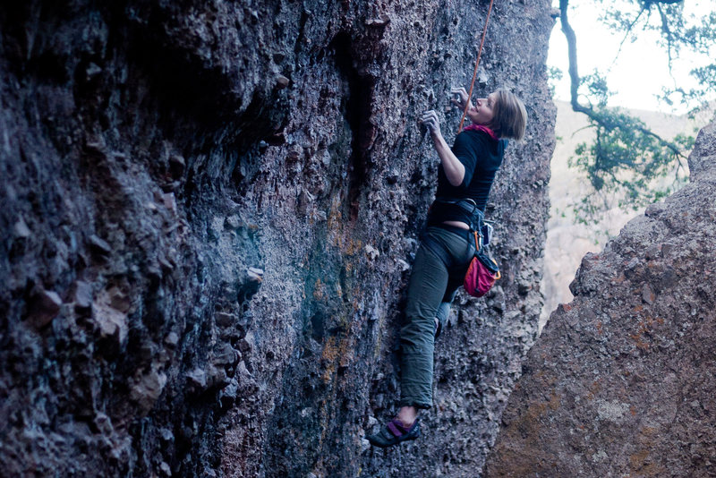 Climbing at the Monolith