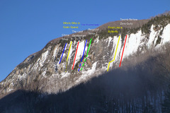 Rock Climbing Photo: Mount Pisgah February 16, 2014