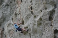 Rock Climbing Photo: Red Taged Whore
