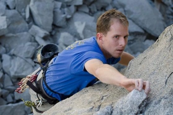 Climbing at Riverside Rock Quarry, CA