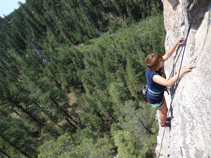 Rock Climbing Photo: You can really get above it all on Skirts Up Pants...