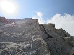 Rock Climbing Photo: beautiful rock patterns on Macallan