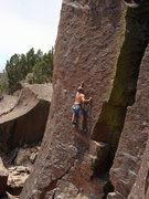 Rock Climbing Photo: Albuquerque local on R.O.U.S., taken on June 7th, ...