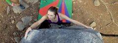 Rock Climbing Photo: Eowyn slappa da bass