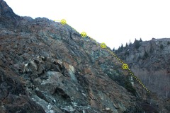 Rock Climbing Photo: Where Goats Do Roam