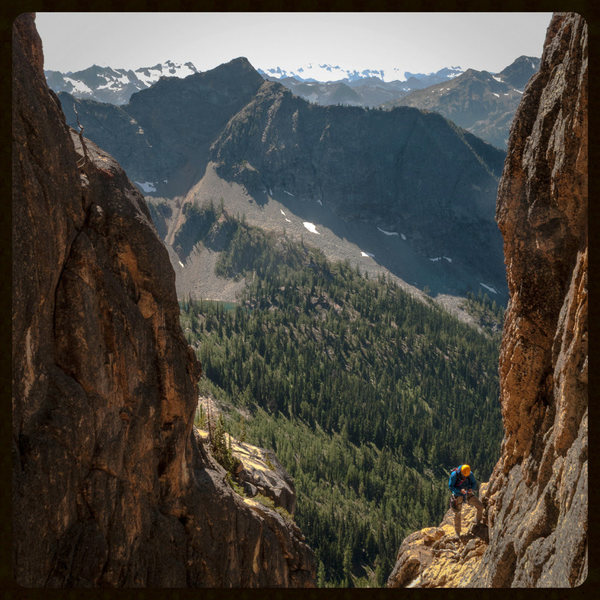 Rock Climbing Photo: Liberty Bell