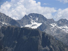 Rock Climbing Photo: Wyoming's highest:  Gannet Peak from the summit of...