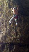 Rock Climbing Photo: Cutting on Flash 5.11b