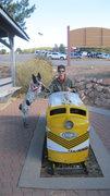 Rock Climbing Photo: cmon ride the train