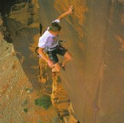Rock Climbing Photo: Tommy Caldwell classic whip off Broken Brain