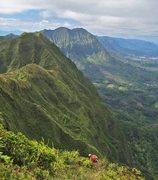 Rock Climbing Photo: Along the final destination of the hike