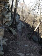 Rock Climbing Photo: Grayson Highlands Bouldering, James River Park Sys...