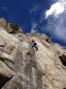 Rock Climbing Photo: Getting it done.