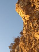 Rock Climbing Photo: The Prow at sunset.