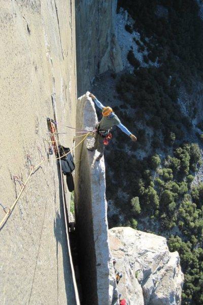 Rock Climbing Photo: Texas Flake!