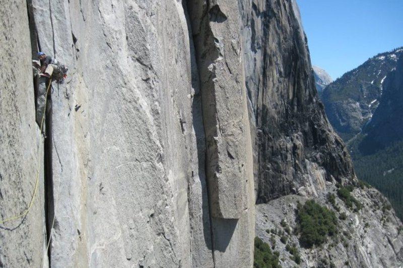 Rock Climbing Photo: Sending The Stove Legs!!!
