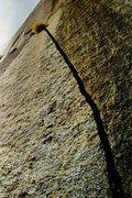 Rock Climbing Photo: Suicide Rock Splitter!