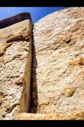 Rock Climbing Photo: Offset Splitter!