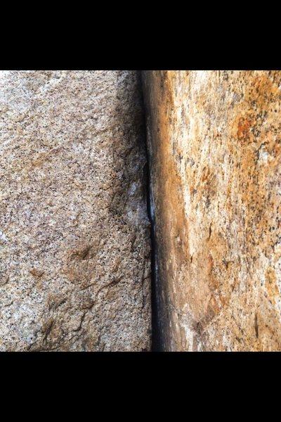 Rock Climbing Photo: Corner Splitter!