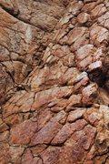 Rock Climbing Photo: Dragon Scales!