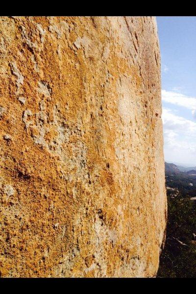 Rock Climbing Photo: Contrast!