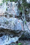 Rock Climbing Photo: Ridg-way is named after endangered hawk, and nice ...