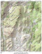 Rock Climbing Photo: MAP 1:  Eagle Mountain