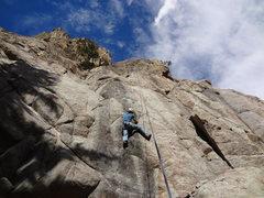 Rock Climbing Photo: That's Jay.