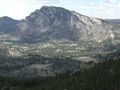 Rock Climbing Photo: Jack Squirrel Peak as seen from South Mountain.