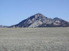 Rock Climbing Photo: South end of Jack Squirrel Peak.