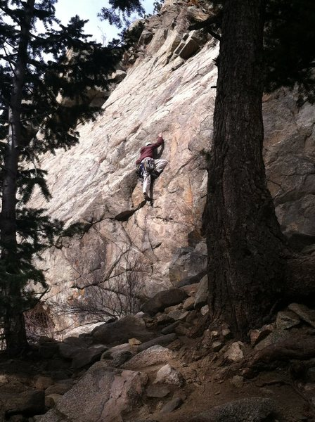 Dave Earle on Doc's Route.