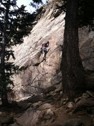 Rock Climbing Photo: Dave Earle on Doc's Route.