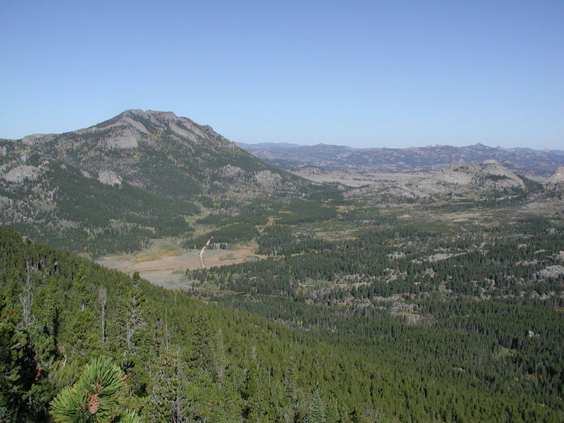 Eagle Peak SE as seen from South Mountain