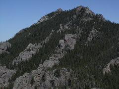 Rock Climbing Photo: NE corner of Eagle Peak