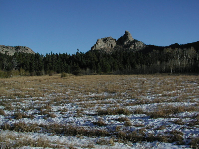 Rock Climbing Photo: Prominent rocks of the Roaring Fork Group
