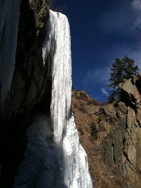 Upper flow, 12/15/13.