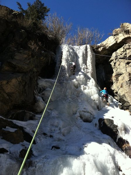 Lower flow, WI3 conditions, 1/18/14.