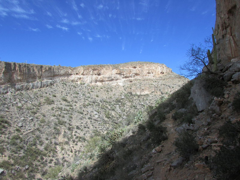 Rock Climbing Photo: Homestead, Central Arizona