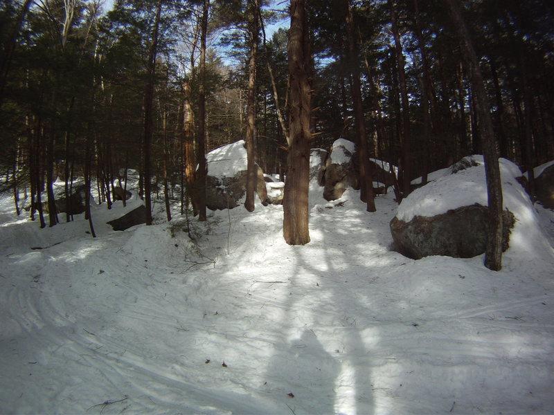 Rock Climbing Photo: Boulder Natural